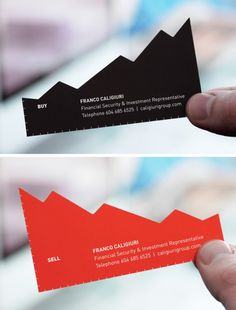 This one could cause a few paper cuts but is perfect for a financial consultant.