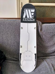 skateboard gundam anaheim electronics