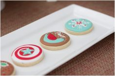 Christmas Cookies for Kids Birthday Party