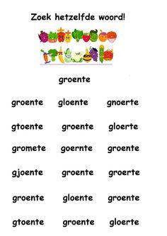 * Zoek hetzelfde woord: groente! Letter G, Jaba, Restaurant, Fruit, Food, Exercise, The Fruit, Restaurants, Meals