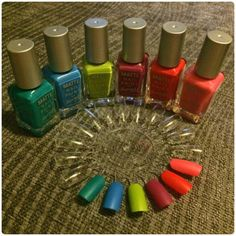 Sunshine On A Cloudy Day Blog :): Barry M Matte Summer Collection