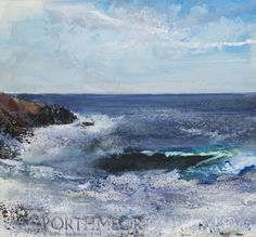 Kurt Jackson, a leading British contemporary artist, has painted a stunning picture of Porthmeor Cove near Zennor in Cornwall, which has been turned into a ...