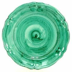 AMALFI-VIETRI: Charger Plate GREEN (Verde Campo) [#PPS/32R-VC] by AMALFI-VIETRI Collection. $79.00. Item Size: 13D. Inches.. Authentic Artistica's product fully handcrafted in Italy.. 100% Food Safe - Dishwasher Safe. Artistica's Exclusive Product. Masterfully Hand-Painted in Deruta Italy!. AMALFI Dinnerware Collection The beautiful ceramics from the city of Vietri Sul Mare on the Amalfi Coast.The city of Vietri sul Mare is hidden in the most secluded part of the h...
