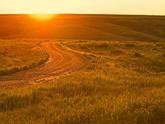 Beautiful South Dakota prairie.