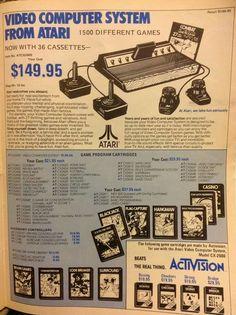 Atari 2600 ad