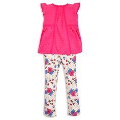 Blusa EPK para niña color frambuesa.