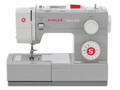 Amazon.com: SINGER 4411 Heavy Duty Extra-High Sewing Speed Sewing Machine with Metal Frame and Stainless Steel Bedplate $140