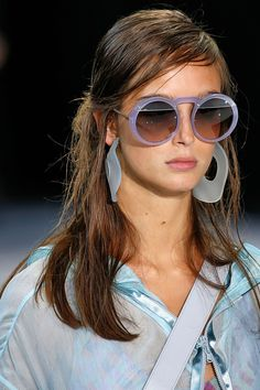 08defe42d1 From Dolce  amp  Gabbana s raffia-trimmed offerings to Prada s Matrix-style  angular specs