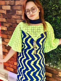 Untitled New Kurti Designs, Kurta Designs Women, Kurti Designs Party Wear, Fancy Dress Design, Stylish Dress Designs, Stylish Dresses, Salwar Suit Neck Designs, Kurta Neck Design, Indian Fashion Dresses