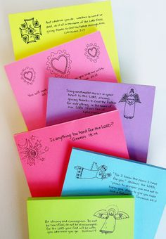 Scripture Notepads Bible Verses set 5  Choose 2 by ItstheWORD, $8.00