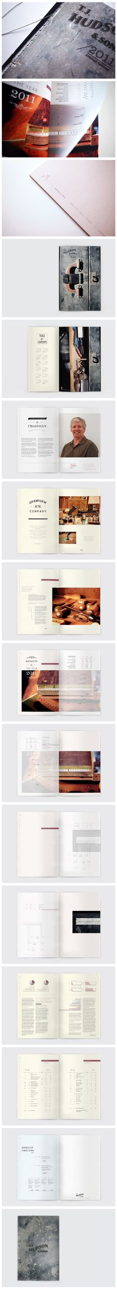 HUDSON & SONS - creative uses of velum over photos to display information. Graphic Design Print, Graphic Design Layouts, Graphic Design Typography, Layout Design, Brochure Layout, Brochure Design, Branding Design, Design Editorial, Editorial Layout