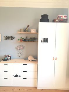 nursery-Kinderzimmer Children's room from Ikea / Pax / Nordli simply magical - Small Couch In Bedroom, Bedroom Couch, Baby Bedroom, One Bedroom, Baby Room Boy, Baby Rooms, Girl Room, Ideas Habitaciones, Ikea Kids Room