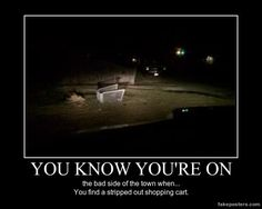 You Know You're On - Demotivational Poster