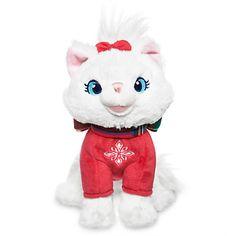 Marie Holiday Plush - The Aristocats - Mini Bean Bag - 6''