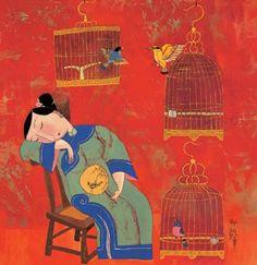 Hu Yongkai Chinese Artist ~ Blog of an Art Admirer