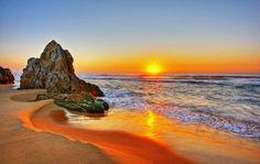 Beach Sunset Pictures HD Wallpaper of Beach Beach Sunset Wallpaper, Sunset Beach, Beach Sunsets, Bondi Beach, Nature Landscape, Sunset Landscape, Strand Wallpaper, Hd Wallpaper, Computer Wallpaper