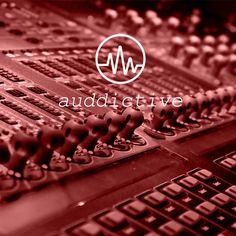 🎨 Imagen de marca creada para Auddictive, nuevo proyecto de Audio Branding 🎵 #Logotipo #marca #branding #diseñografico #audiobranding