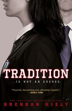 TRADITION by NYT bestselling author Brendan Kiely will be published in the UK by Penguin Random House in May 2018!