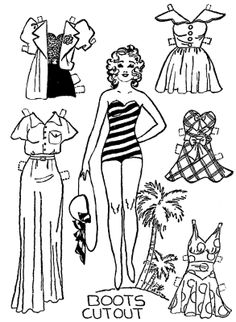 Mostly Paper Dolls Too