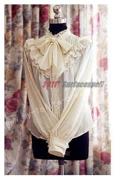 Surface Spell Lace Classic Lolita Blouse