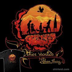 Other Worlds   Shirtoid #comic #comics #everdream #macalpin264 #silhouette #stephenking #thedarktower