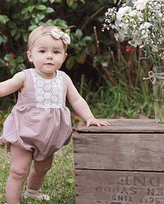 P L A Y G R O U P // R O M P E R // P D F // P A T T E R N // # 1 6 0 1 Sizes include Preemie, Newborn, 0-3M, 3-6M, 6-9M, 9-12M, 12-18M, 18-24M, and 2-3  D E S C R I P T I O N The Playgroup Romper is sure to become a favourite in your little one's wardrobe; it's the Mini-Me version of our very popular Playgroup Dress. This pattern is packed full of options: long sleeves, short sleeves, capped sleeves, flutter sleeves, or sleeveless, collar or no collar...