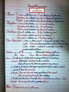 What are the basics of English grammar? English Grammar Notes, English Vocabulary Words, Learn English Words, Grammar And Vocabulary, Grammar Lessons, English Writing, English Study, English Lessons, English Grammar Tenses