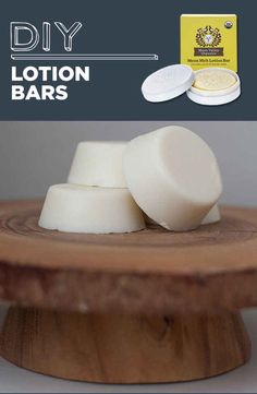 DIY Lotion Bars | 31 Household Products You'll Never Have To Buy Again--Love this! This way you know everything that's going into your cleaning & personal hygiene products!  Would be good to start out making one or two & then working up as you need them