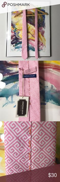 Selling this Jonathan Adler NWT Greek Key Tie on Poshmark! My username is: pooyahat. #shopmycloset #poshmark #fashion #shopping #style #forsale #Jonathan Adler #Other