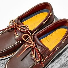 Summer events call for a new pair of Leather  timberland Boat Shoes - View 96ec40cd1887