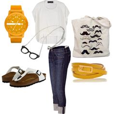 Running errands, created by bea-f on Polyvore