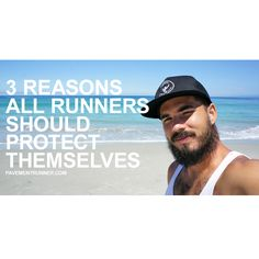 3 reasons all runners should protect themselves. #pushfurther #gotitfree #fitfluential