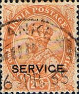 India 1932 King George VI Service Fine Used SG O131 Scott O84 Other Asian and British Commonwealth Stamps HERE!
