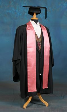DIY Graduation Reglia Gown and Phd Hood   Sewing project