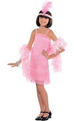 Costume Flapper Pink
