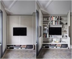 Home Furniture Design Living Room Tv Unit, Home Living Room, Living Room Designs, Living Room Decor, Dining Room, Tv Wall Design, House Design, Design Hotel, Design Shop