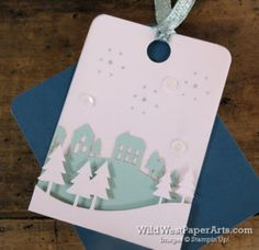 Wonderful Winterland Paper Pumpkin at WildWestPaperArts.com  Alternate Idea  #paperpumpkin #christmascard