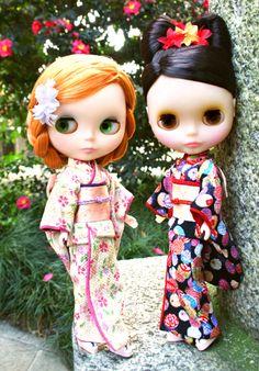 Beautiful Blythe kimono