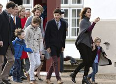 75 ANS DE MARGRETHE II - Réveil royal à Fredensborg
