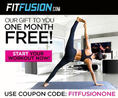 One Month Free! FitFusion is the perfect destination for hardcore fitness addicts as well as casual fitness enthusiasts. There's something for everybody at FitFusion, especially with their incredible level of portability—FitFusion videos can be enjoyed practically anywhere, from your computer to your iPhone, on your iPad, your Android device, you can even stream to your AppleTV using AirPlay or any TV with Chromecast. . Find out more! http://ifreesamples.com/enjoy-one-month-free-fit-fusion/