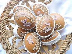 Easter Egg Designs, Biscotti, Easter Eggs, Gingerbread, Muffin, Pie, Cakes, Breakfast, Food