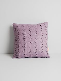 Pilea cushion cover by Janita Isotalo. Available at www.uumarket.fi - UU Market: Home of New Finnish Design.