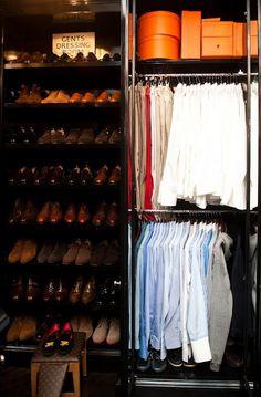 Men's Closet...