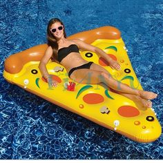 59.88$  Buy here - http://alic5q.worldwells.pw/go.php?t=32723782637 - Hot! 188cm *150cm Inflatable Pepperoni & Pizza Water Floats Swimming Pool Air Raft Floats For Summer Inflatable Swimming Rings
