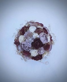 Hey, I found this really awesome Etsy listing at https://www.etsy.com/listing/554898738/ready-to-ship-wedding-bouquet-burgundy