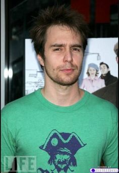 sam rockwell, what's that?  You left your wallet at my place?  I'm still in bed...