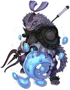 U'nasag - Characters & Art - Terra Battle
