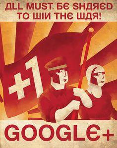 Social media war poster