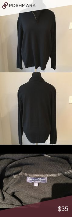 DAVIS & SQUIRE SIZE XL - 100 % merino wool sweater Awesome NWOT 100% merino wool sweater. Davis and Squire Sweaters