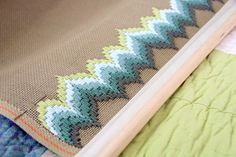 i looove bargello. this is gorgeous.